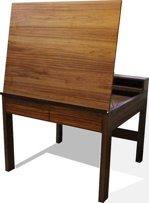 Muebles y espacios: Salas de estilo moderno por Wooden