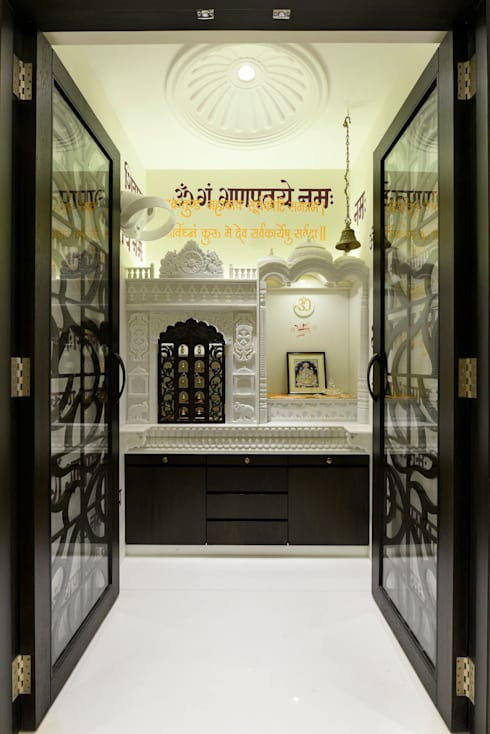 MANDIR ROOM / AREA:  Household by HJ TALREJA ASSOCIATES