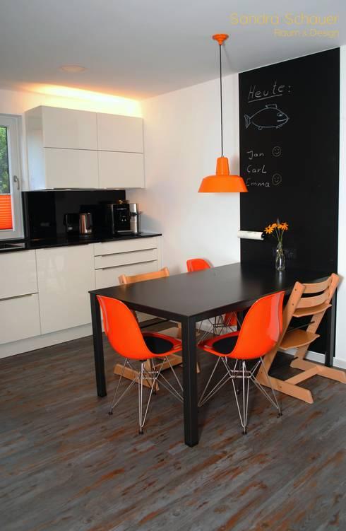 Familienküche:  Küche von Sandra Schauer Raum & Design
