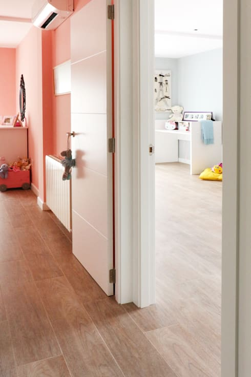 modern Nursery/kid's room by acertus