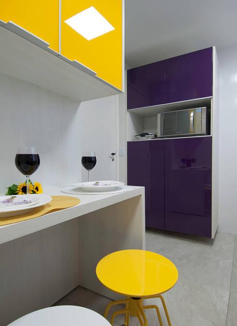 Apartamento Morumbi: Cozinhas clássicas por Figoli-Ravecca Arquitetos Associados
