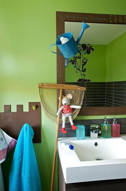 Baños de estilo ecléctico de Tabary Le Lay