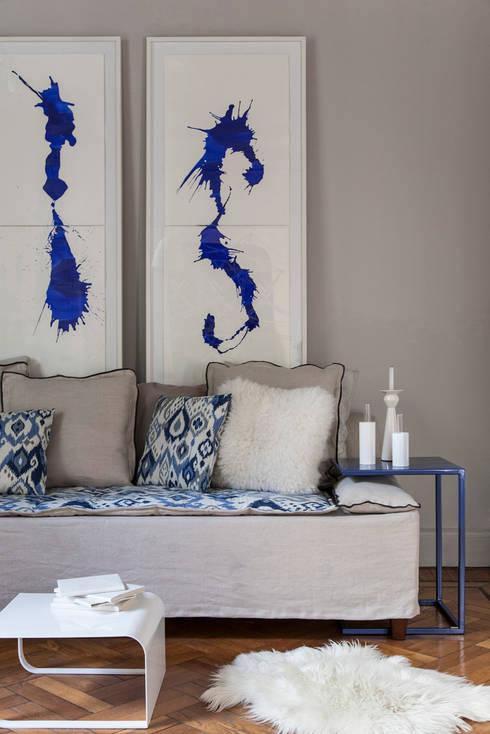 Colección Solsken: Livings de estilo  por Solsken
