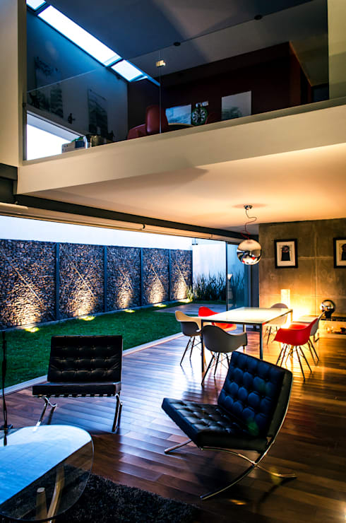 Livings de estilo moderno por Oscar Hernández - Fotografía de Arquitectura