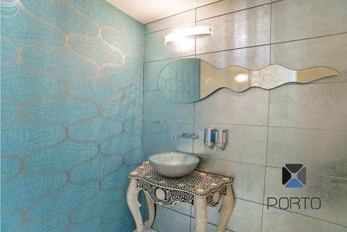 Proyecto Residencial <q>La Ramona.</q>: Baños de estilo  por PORTO Arquitectura + Diseño de Interiores