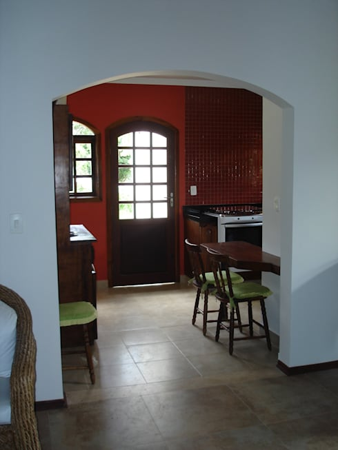 Cozinhas  por Mina Arquitetura & Construções
