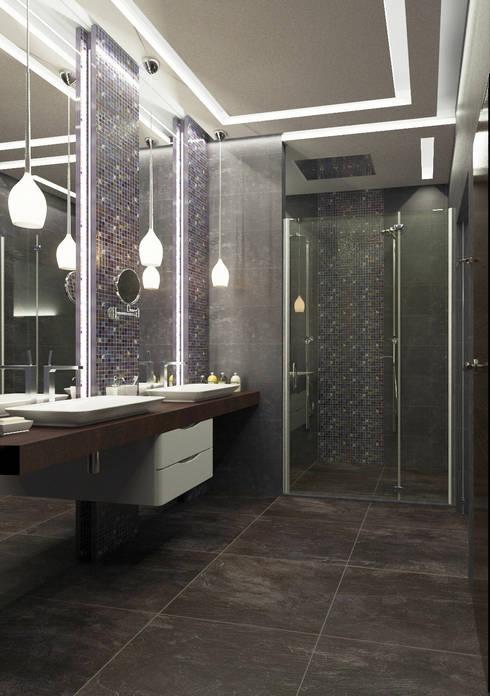 Hotelsuite, Hessen, Germany: moderne Badezimmer von Insight Vision GmbH