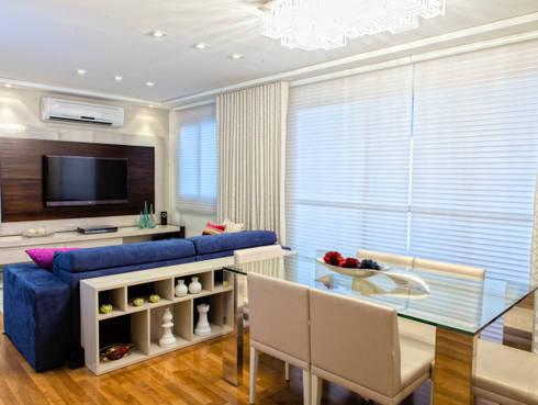 Conforto e Bem Estar: Salas de jantar modernas por Lilian Barbieri Interior Design