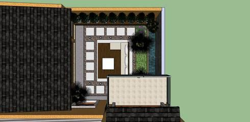 exterior:  de estilo  por LE PONT Estudio de Arquitectura e Ingenieria