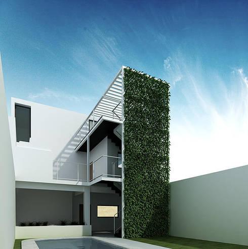 Casa en Nueva Córdoba: Casas de estilo moderno por 520 arquitectos