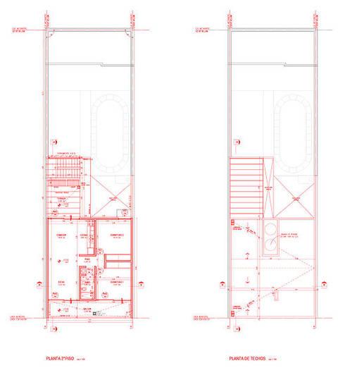 Casa en Nueva Córdoba:  de estilo  por 520 arquitectos