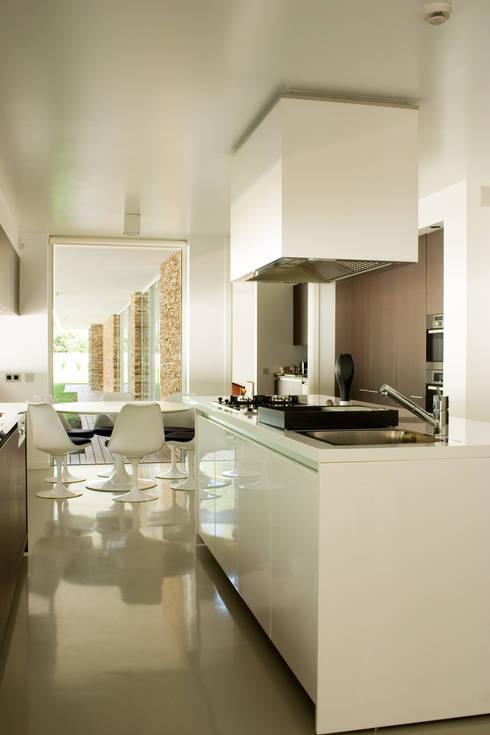 modern Kitchen by A.As, Arquitectos Associados, Lda