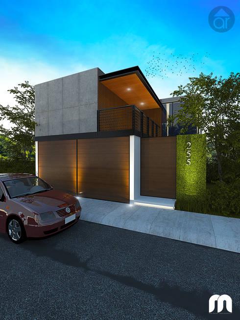 Casa: Casas de estilo moderno por Armonía arquitectos