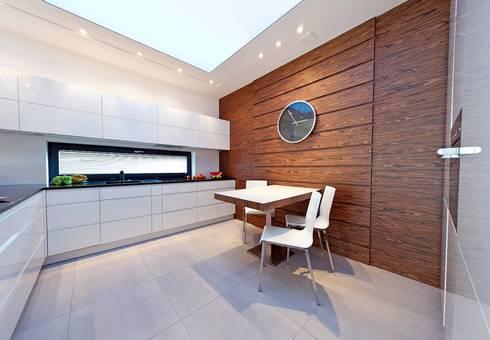 Realizacja projektu Neptun 4: styl , w kategorii Kuchnia zaprojektowany przez Biuro Projektów MTM Styl - domywstylu.pl