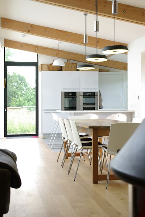 Twinneys: modern Kitchen by Designscape Architects Ltd