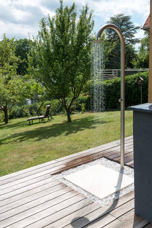 Wohnen im Sommerhause:  Garten von UNA plant