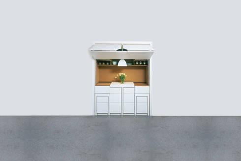compact kitchen kompaktk che auf 4qm von produkt design. Black Bedroom Furniture Sets. Home Design Ideas
