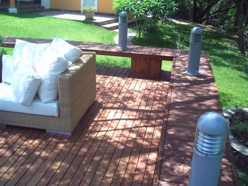 Pool Área Barrenechea – Santiago: Albercas de estilo moderno por Moya-Arquitectos