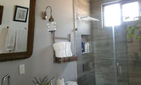 Proyecto Marian: Baños de estilo  por Bianco  Diseño
