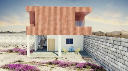 Fachada :  de estilo  por 21 Arquitectura