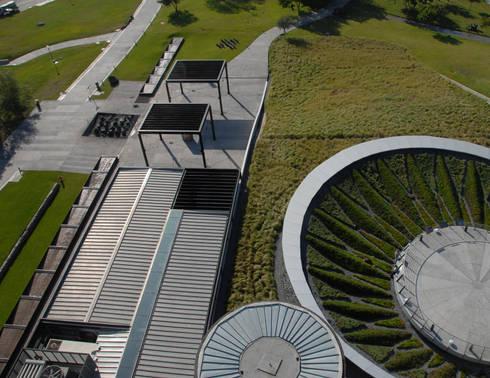 Composición de techos: Museos de estilo  por HARARI LANDSCAPE