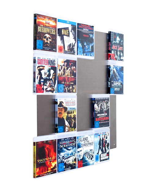 designregal f r ihre blu ray filme von cd wall homify. Black Bedroom Furniture Sets. Home Design Ideas