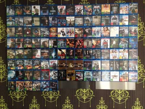 designregal f r ihre blu ray filme von cd wall homify. Black Bedroom Furniture Sets. Home Design Ideas