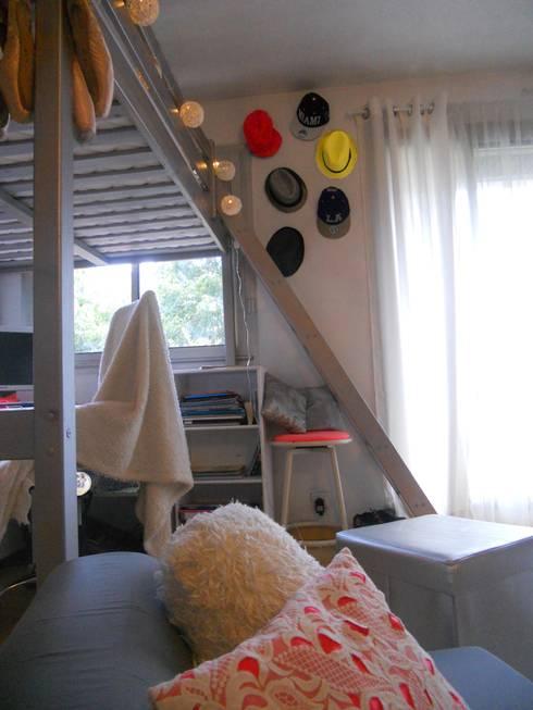 Chambre d 39 ados haute en couleurs par sylviane gestalder for Chambre d hautes