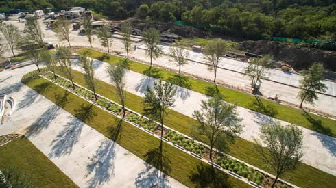 ESTADIO BBVA MONTERREY: Estadios de estilo  por HARARI LANDSCAPE