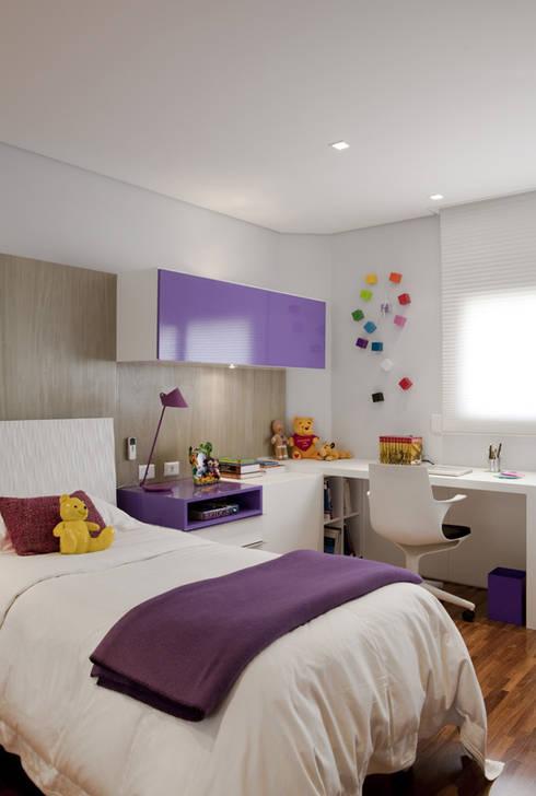 Marcelo Rosset Arquitetura:  tarz Çocuk Odası