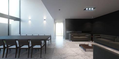 Sala Comedor: Salas de estilo minimalista por RTstudio