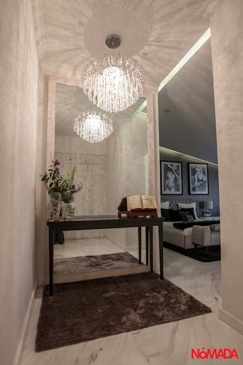 Casa Bosques de las Lomas, México Distrito Federal : Recámaras de estilo moderno por Nómada Studio