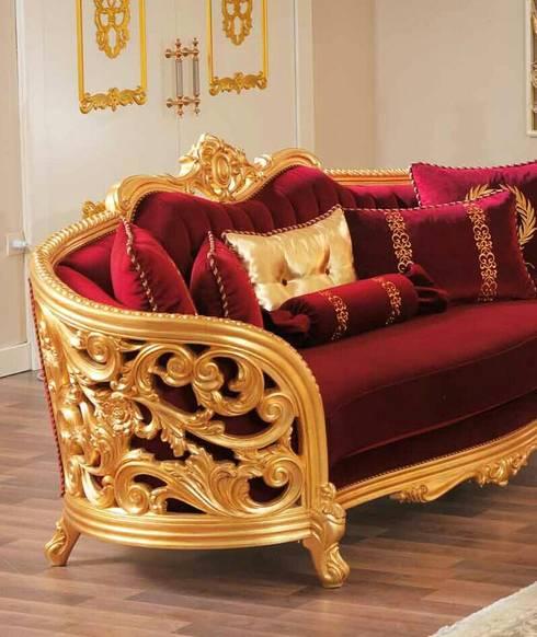 Living room by Ceviz Ağacı Mobilya