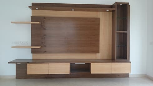 Living Room Cabinet: modern Living room by Arka Interio