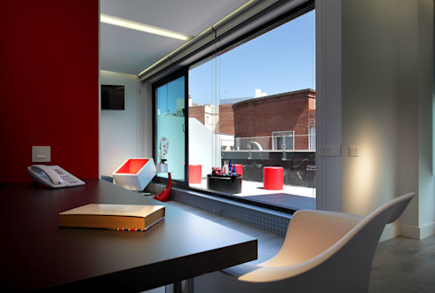 Hotel exe central madrid di laboratorio de arquitectura moderna slp homify - Exe central madrid ...