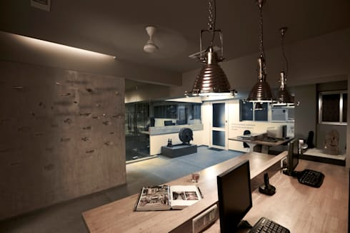 Work stations: eclectic Study/office by Interface