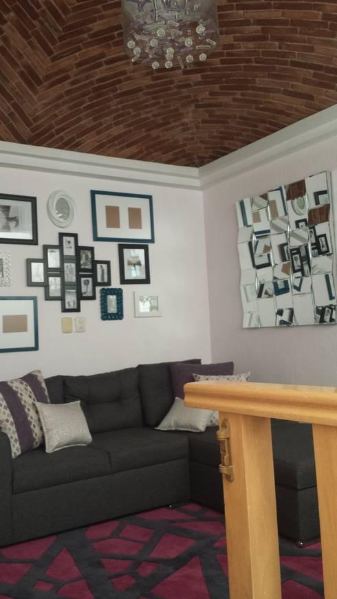 Salas: Salas de estilo moderno por Paola Hernandez Studio Comfort Design