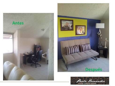 Proyecto: Casas de estilo moderno por Paola Hernandez Studio Comfort Design