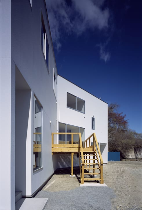 Casas de estilo  por 関建築設計室 / SEKI ARCHITECTURE & DESIGN ROOM