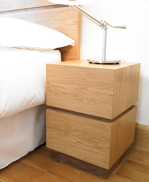 Minimalist bedroom suite by chris tribe furniture homify for Minimalist furniture india