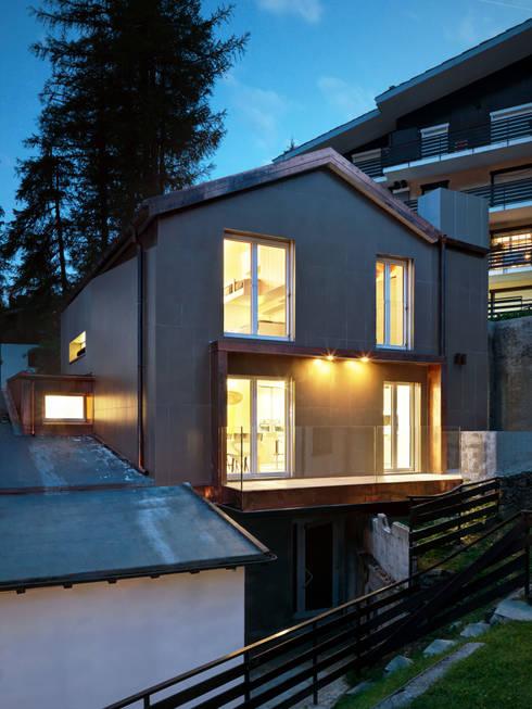 Projekty,  Domy zaprojektowane przez es-arch