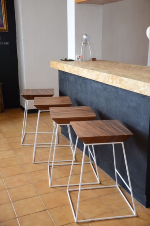 Trapecio: Cocina de estilo  por Design + Concept
