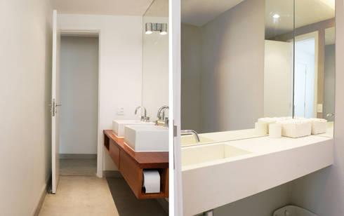 Casa da Barra: Casas de banho modernas por blaanc