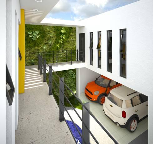 Casa R:  de estilo  por LEMON ARKS