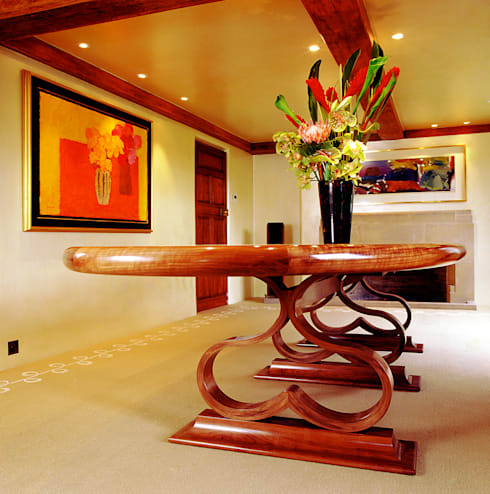 Dining room by Tim Wood Limited