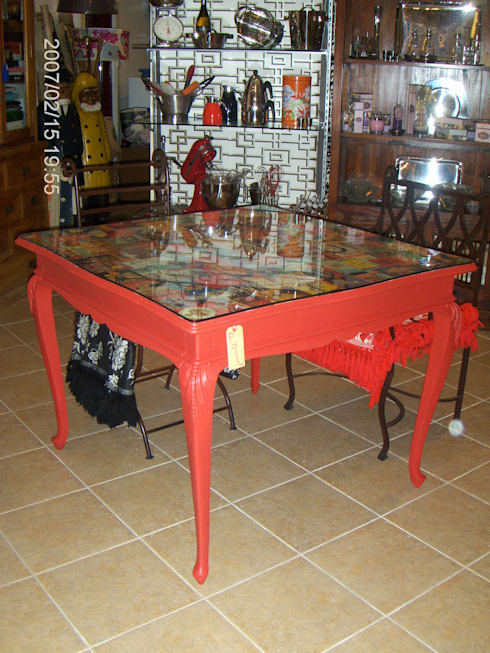 Mesa de jantar: Casa  por Restauro em Sintra