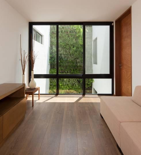 Salas de estar modernas por LGZ Taller de arquitectura