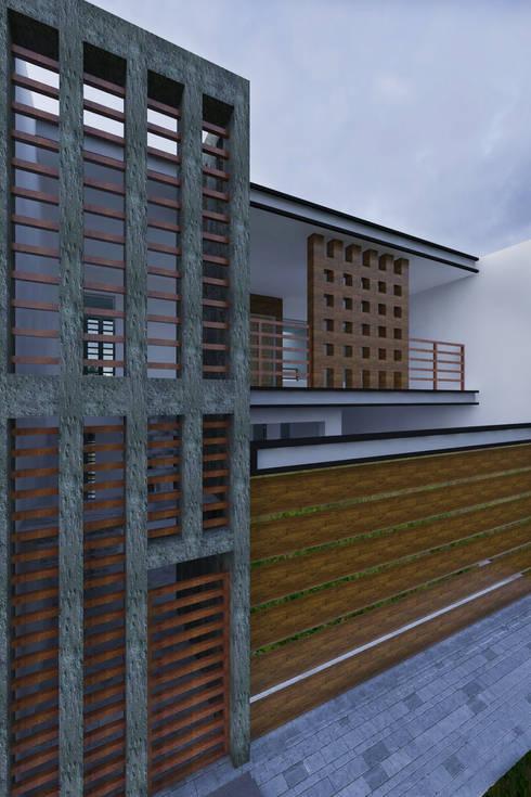 PROPUESTA NUEVA FACHADA :  de estilo  por RGB - Arquitectura