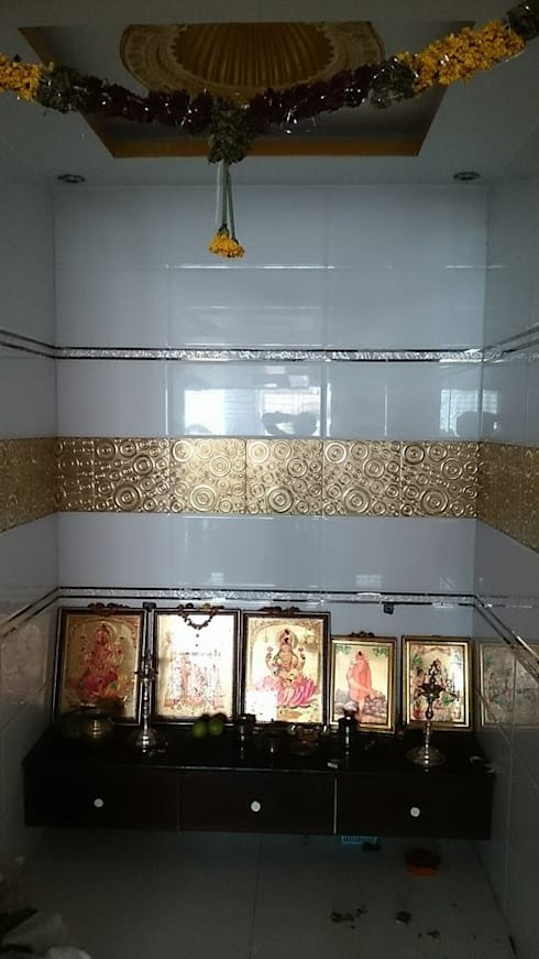 Decorative Tiles For Pooja Room Walls And Ceilings