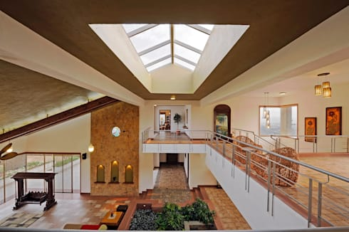 Lonavla Bungalow: asian Conservatory by JAYESH SHAH ARCHITECTS